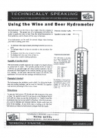Using a Hydrometer